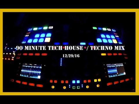 Tech House Mix Deep Underground House Dance December 29, 2016 90 Minutes