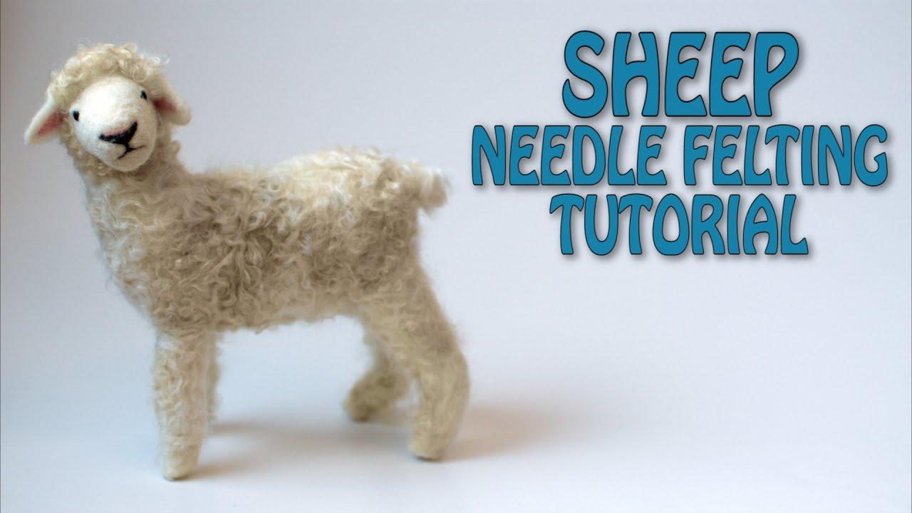 how to make sheep with felt