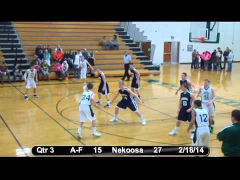 Nekoosa Boys Basketball vs. Adams-Friendship 2-18-14