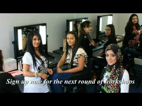 Zukreat ,The Artist of Makeup Academy, trains budding makeup Artists at her London workshops