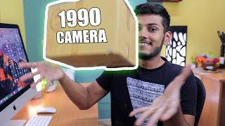 UNBOXING A 1990's CAMERA IN 2018 !