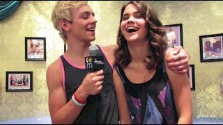 Ross Lynch & Maia Mitchell 2014