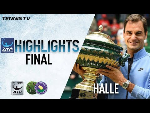 Highlights: Federer Beats Zverev For Ninth Halle Title 2017