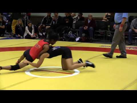 2014 Wesmen Open: 48 kg Sigora Wolff vs. Maciel Ramirez