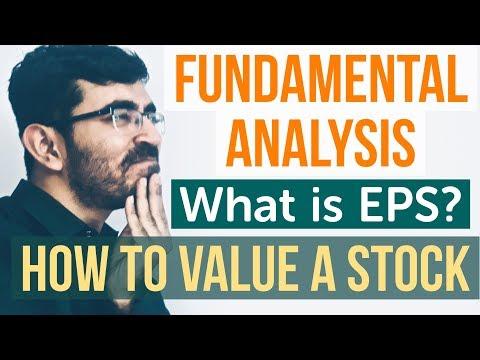 Fundamental Analysis of Stocks [HINDI] - P/E Ratio & EPS Tutorial