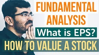 Fundamental Analysis of Stocks [HINDI] - P/E Ratio & EPS Tutorial