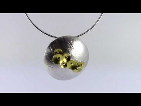 Contemporary Jewellery Ireland Jill Graham Bloom Pendant
