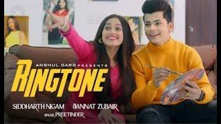 Ringtone-preetinder || jannat zubair and siddharth nigam || Anshul garg || Vicky sandhu