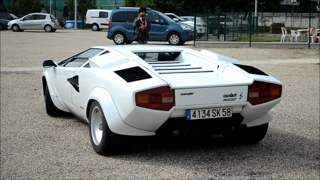 Lamborghini Countach 5000s Start Up And Acceleration Youtube