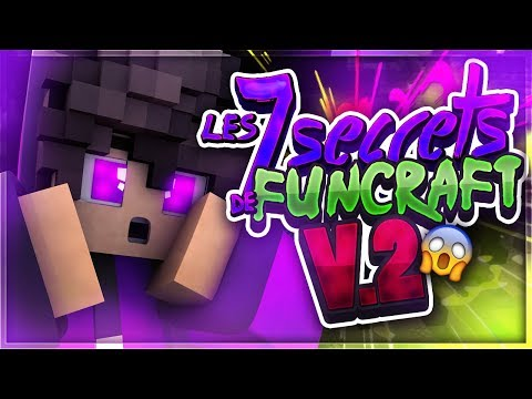 LES 7 EASTER EGG (SECRET) DE FUNCRAFT V2 [boules de crystals]