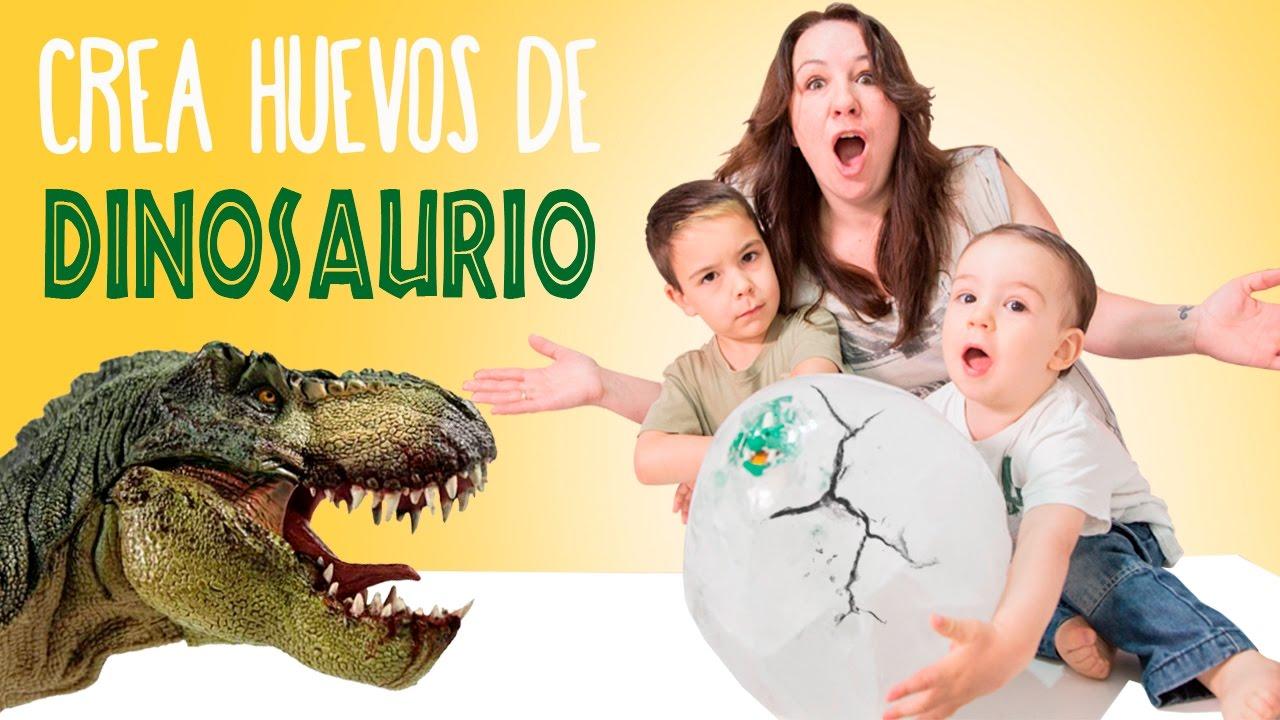 Crea Tus Propios Huevos De Dinosaurio Juegos Y Juguetes En