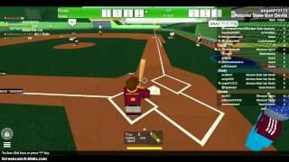 Roblox NCAA Baseball Postseason MT @ ASU