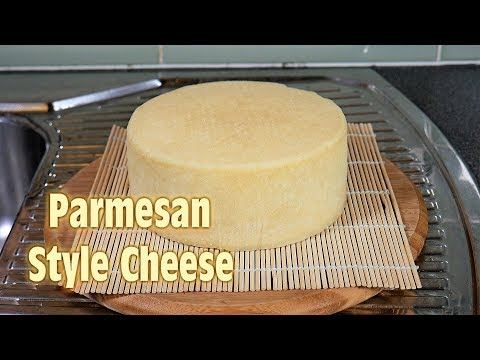 How to Make Parmesan Cheese (Italian Hard Cheese) at Home