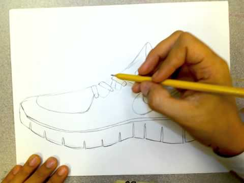 How to Draw Nike Shoes  eHow