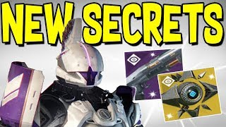 Destiny 2: SECRET EXOTIC & HIDDEN QUEST! Secret Shotgun Reward, Saint 14 Found, & Sagira Ghost Shell