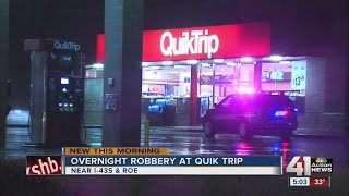 Overnight robbery at QuikTrip in Overland Park