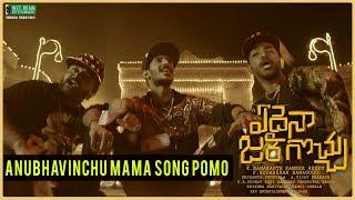 anubhavinchu-mama-song-pomo-edaina-jaragocchu-movie-songs-vijay-raja-bobby-simha-pooja