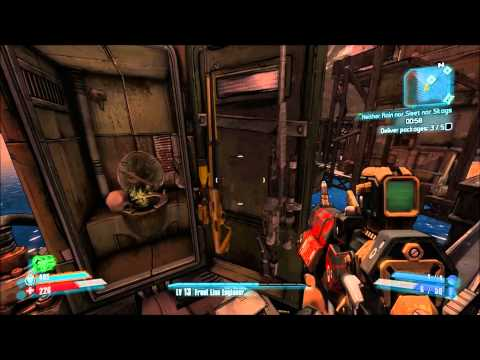 Borderlands 2 - Neither Rain nor Sleet nor Skags - The mail must arrive on time!