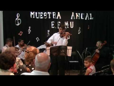 Bach Concierto en la menor - EFMU