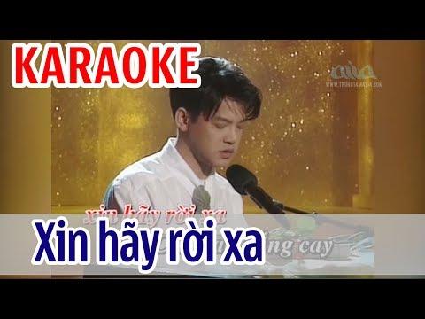 Xin Hãy Rời Xa Karaoke Tone Nam - Vũ Tuấn Đức | Asia Karaoke Beat Chuẩn