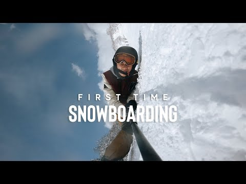 ASIAN/SINGAPOREAN TRIES SNOWBOARDING FOR THE FIRST TIME | NISEKO