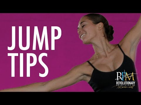 Jump Tips: Energy Patterns in Ballet