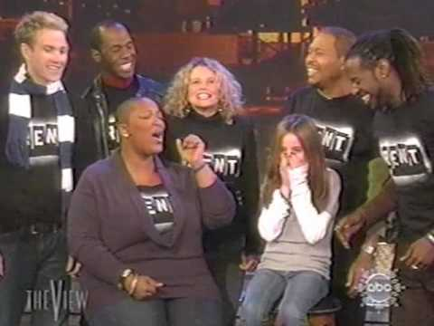 Frenchie Davis w/cast of RENT @ The View