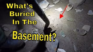 Creepy Old House Metal Detecting: What's In The Dark Cellar?