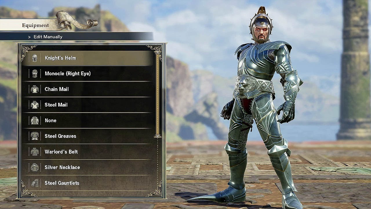 [4K] SOUL CALIBUR 6 - Character Creation (PS4 Pro) @ 60ᶠᵖˢ UHD ✔