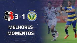 Santa Cruz 3 X 1 Freipaulistano | Gols E Melhores Momentos | 5ª Rodada | Copa Do Nordeste 2020