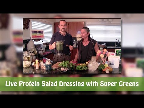 Dr Robert Cassar: The Main Course: Green Tasty Salad Dressing!