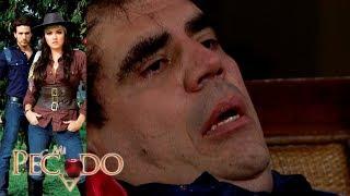Mi Pecado - Capítulo 64: ¡Carmelo asesina a Miguel Mendizábal! | Televisa
