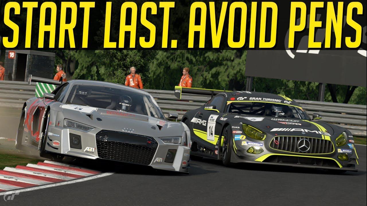 Gran Turismo Sport: Start Last. Avoid Penalties. Easy.