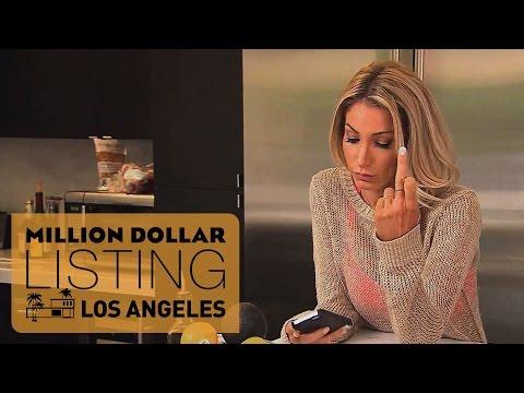 Josh Altman and His Girlfriend Have a Fight  // Million Dollar Listing LA // Season 7