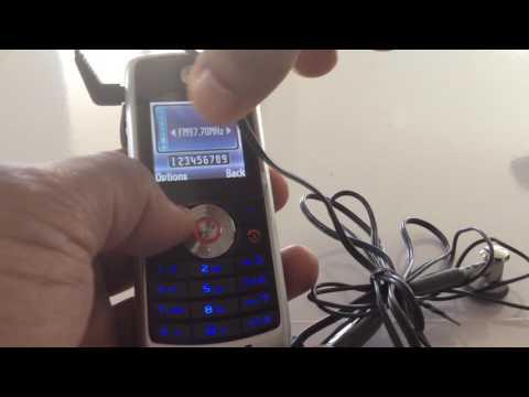 Classic Motorola W230- Hands on.