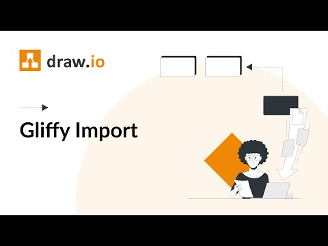 Draw Io Import And Export A Vsdx File Youtube