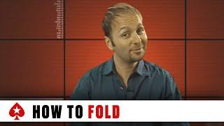 The Art of Folding a Good Poker Hand 1 | PokerStars