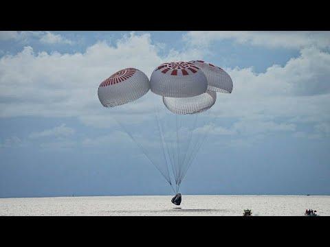 ...بعد رحلة سياحية لمدة 3 أيام...زوار الفضاء الأمريكيون ي  - 22:55-2021 / 9 / 19