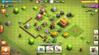 How to attack with little troops,Clash Of clans