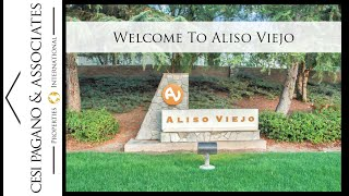 Introducing Aliso Viejo in Orange County