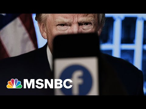 After Facebook Affirms Trump Ban, Trump Reminds Why It Was Necessary | Rachel Maddow | MSNBC