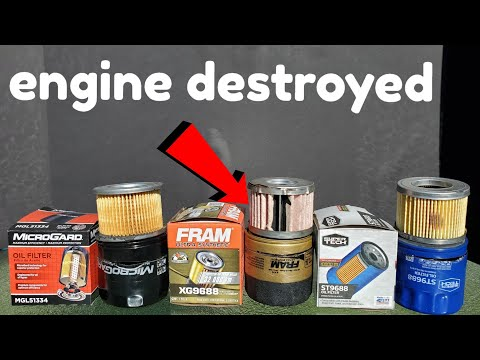 Fram oil filter's cause engine damage!! (Proof)