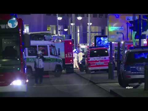 12 killed as lorry ploughs into Christmas market crowd in Berlin