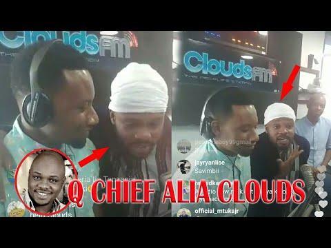 Q CHIEF AMTISHIA B DOZEN KUACHA MZIKI,ALIA LIVE CLOUDS FM