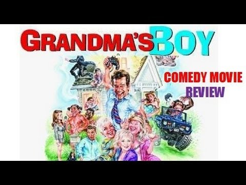GRANDMA'S BOY ( 2006 Allen Covert ) Comedy movie review