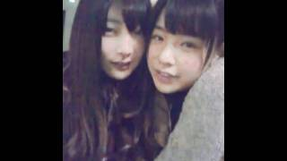 NMB48 近藤里奈with岸野里香.