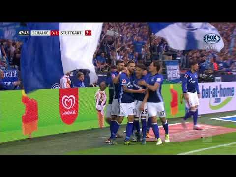 GOL: Schalke 3-1 Stuttgart