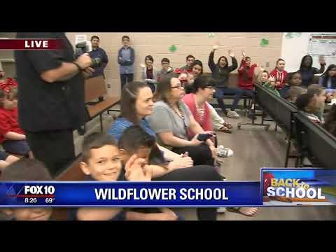 Back to school: Wildflower Elementary School