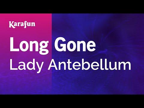 Karaoke Long Gone - Lady Antebellum *
