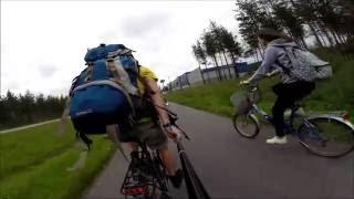 видео В Финляндию на велосипеде